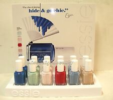 ESSIE HIDE & GO CHIC SPRING 2014 COLLECTION FULL SIZE VARIETY COLORS.