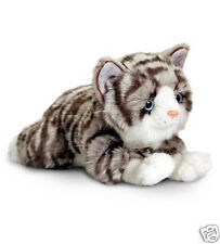 Keel Cat Kitten Plush Soft Toy Black White Silver Grey Ginger Tabby 25cm 30cm