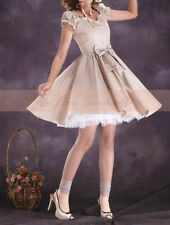 Oversized Puff Slv Ruffled Bow Elegant Slim Dress HL011 plus1x-10x (SZ 16-52)