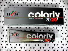 Itely COLORLY 2020 Cream Hair Color YOUR CHOICESeries  1-6 2.03 oz  blk bx