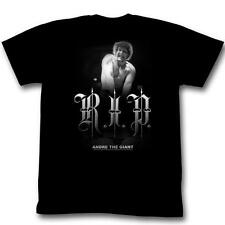 Andre The Giant RIP Black S M L XL Adult Men T-Shirt Tee