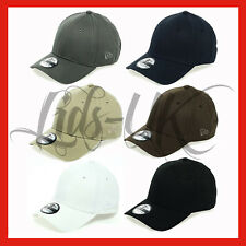 NEW ERA classic 39thirty PLAIN CAP HAT IN 6 COLOUR S-L