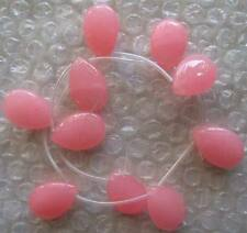 18x25mm Jade Drop Beads 10 PCS