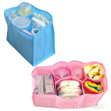 Lovely Large Travel Mother Bag Nappy Bag Storage Baby Diaper Bottle Clothes BC2U