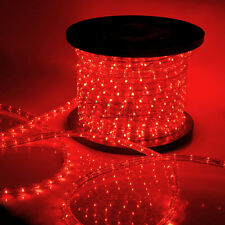 Red LED Rope Light 110V Home Party Christmas Decorative In/Outdoor