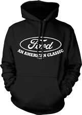 Ford An American Classic Cars Trucks Tough Motor Co Hoodie Pullover Sweatshirt