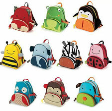 HOT Cartoon Kids Children's Animal Backpack Zoo School Bag Rucksack Shoulder Bag