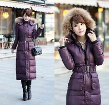 Hoodie Women's QuiltingThicken Full Length Down Coats Jackets Puffer Outerwears