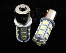1-2 pcs 1156 BA15S 18 SMD LED Cool White Auto Car Bayonet Tail Fog Light 6000K