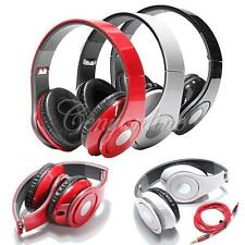 3.5mm Foldable Stereo Headset Headphone for Mobile Phone Laptop PC Tablet MP3/4