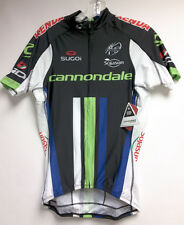 2014 Cannondale Cycling Pro Team Short Sleeve Jersey in Black by Sugoi