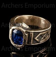 Hobbit, Exquisite King Thror Ring of Power, Bronze. Weta Collectables. LotR. NEW