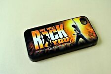 Fits iphone 4 4s mobile phone hard case We Will Rock You Musical Queen