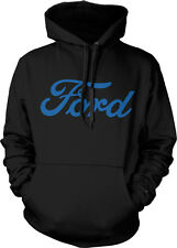 Ford Logo Classic Cars Trucks Built Tough Motor Co Hoodie Pullover Sweatshirt