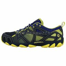 Merrell Hurricane Lace Navy Yellow 2014 Mens Outdoors Hiking Water Shoes