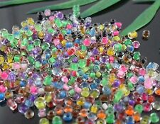 1000Pcs  12Color  1 Mixed Color Making Mixed Czech Glass Seed beads 2mm