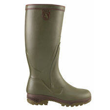 AIGLE PARCOURS 2 ENDURO WELLINGTON BOOT NATURAL RUBBER WALKING OUTDOOORS NEW