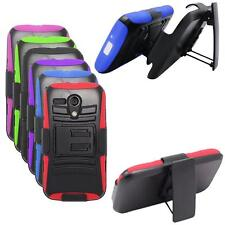 Phone Case For Straight Talk Moto G XT939g Rugged Hard Cover Stand Holster Clip