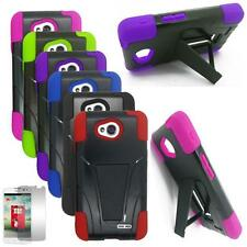Phone Case For LG Optimus L90 Rugged Cover Stand Screen Guard