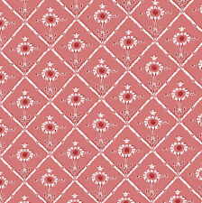 Dolls House Wallpaper 1/12th 1/24th scale Red Quality Paper #219