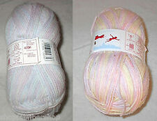 Wendy Peter Pan Baby Double Knitting DK Yarn Color Choice Knit Crochet Free Ship