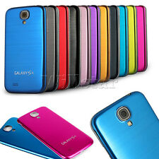 ALUMINIUM ALLOY BRUSHED METAL BATTERY CASE COVER FOR SAMSUNG GALAXY S4 IV I9500