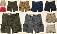 Nwt Hollister Mens Cargo Shorts Classic Sz 31,32,33,34,36