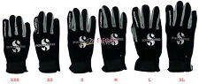 Scubapro Tropic Sport Scuba Dive Diving Snorkel Underwater Neoprene Gloves Black