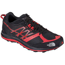 The North Face Ultra Guide Mens Trail Shoes Black Red All Sizes