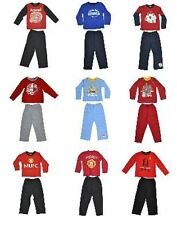 Official Football Club - Boys Pyjamas Long Sizes From 12 Months-10 Years