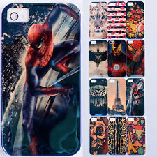 Awesome IMD Tech Marvel SPIDERMAN BATMAN soft Case cover skin for iPhone 4 4G 4S