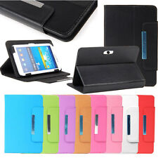 "Leather Folio Case Cover For Universal Android Tablet PAD 7"" 7.9"" 8"" 9.7"" 10.1"""