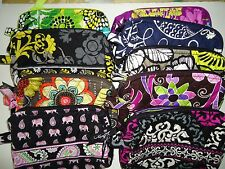 New Vera Bradley Small Cosmetic ( 9 colors)