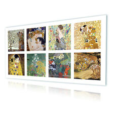 LARGE Canvas Gustav Klimt Collage Set Lot 8pic The Kiss GICLEE decor photos art