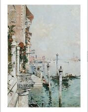 "FRANZ RICHARD UNTERBERGER ""Grand Canal, Venice"" Print various SIZES, BRAND NEW"