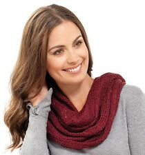 RJM Ladies Soft Knitted Sequinned Snood
