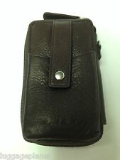Osgoode Marley Cashmere Leather Night Out iPhone Case Wallet 1664 Raisin