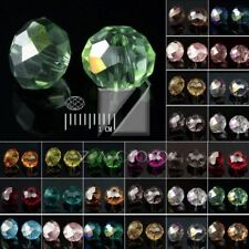 150x Rondelle Crystal Czech 5040 Loose Glass Bead Faceted Jewellery Making 3x4mm