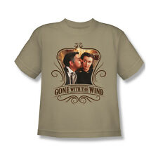 Gone With The Wind Kissed T-Shirt Youth Boy Girl Sand S M L XL