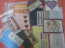 Creative Memories Consultant TTY kits Lot #4 YOU CHOOSE stickers photo mats ++