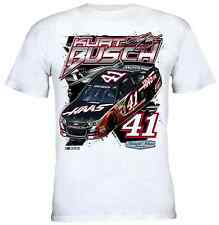 Kurt Busch Chase Authentics #41 Haas Automation Straightaway Tee FREE SHIP!