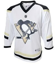 Pittsburgh Penguins NHL Reebok Stadium Series Youth Blank White Replica Jersey