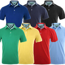 Tommy Hilfiger Golf 2014 Mens Basic Pique Plain Polo Shirt TM100