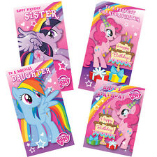 My Little Pony Female Relations Greeting Cards - Suitable for Children