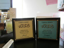 CASWELL MASSEY ORIGINAL 1752 SHAVE SOAP REFILL~CHOICE ALMOND or EUCALYPTUS~BOXED