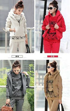 women's Autumn/winter new fashion popular design hoodies three-piece Sport Suit