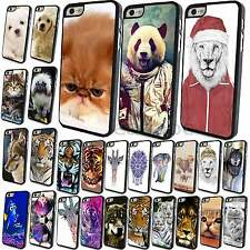 New Cute Animal Pattern Phone Hard Skin Case Cover for Apple iPhone 4 4S 5 5S 5C