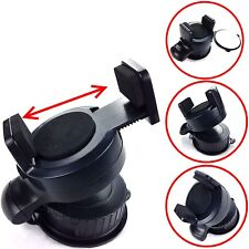 BLACK ONE TOUCH MINI CAR HOLDER WINDSCREEN /DASHBOARD FOR LATEST MOBILE PHONES