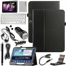 Bluetooth Keyboard Leather Case Cover for Samsung Galaxy Tab 3 10.1 inch Tablet