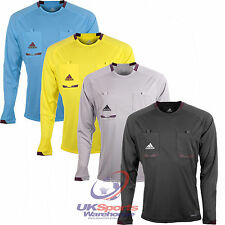 Adidas Mens Long Sleeved Climacool Formotion Referee Shirts Jerseys rrp£40